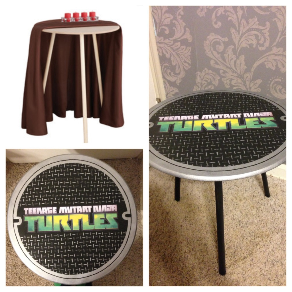 Ninja Turtle Side Table