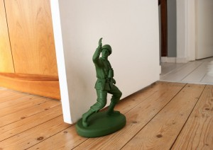 Army Man Doorstop