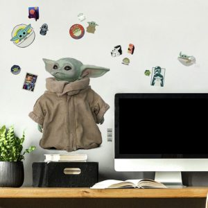 RoomMates The Mandalorian The Child Peel and Stick Wall Decals