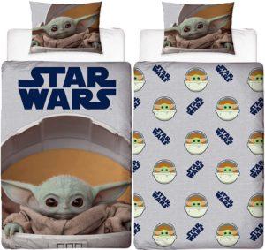 Baby Yoda Star Wars Mandalorian Single Duvet Cover Set