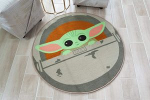 The Child 39-Inch Round Area Rug