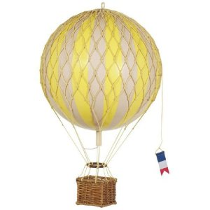 Authentic Models Travels Light True Green Hot Air Balloon