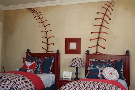 Kids Baseball Bedroom Decor