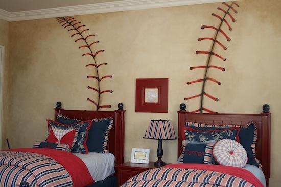 Kids Baseball Bedroom Decor