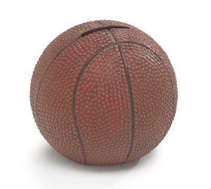 Basketball Sports Themed Kids Piggy Bank