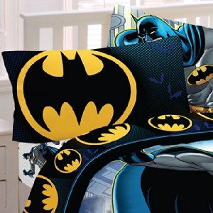 Batman 5pc Full Comforter and Sheet Set Bedding Collection