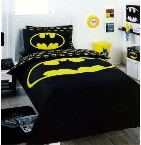 The Batman Logo Shower Curtain is a must-have for the true Batman fan. This shower curtain will have your child excited to take a shower or bath.