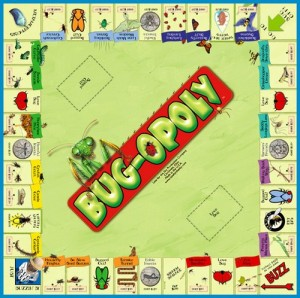 Bug-Opoly Insect Monopoly Board Game