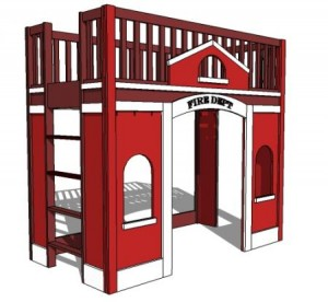 Build the Kid a Loft bed!