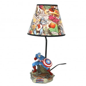 Captain America Table Lamp