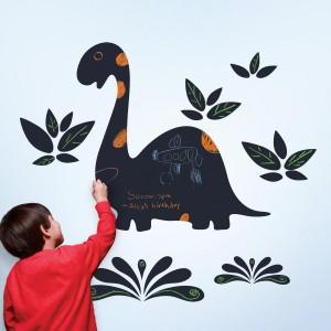 Chalkasaurus Chalkboard Wall Decal