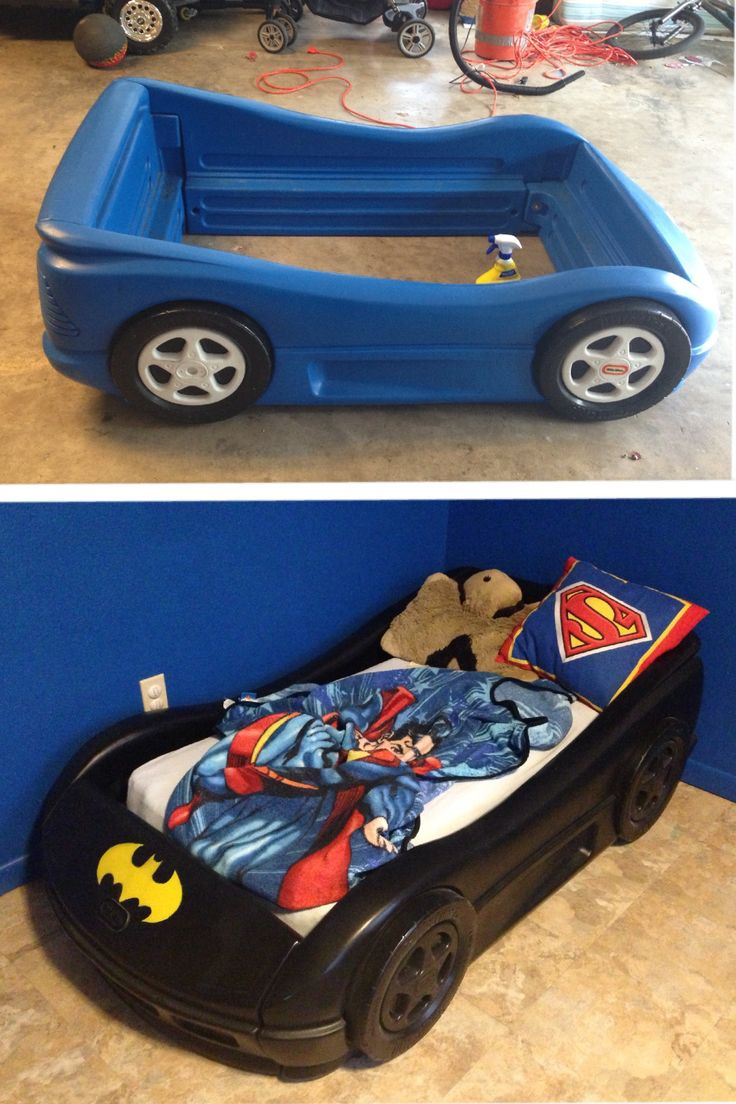 Diy Batman Bed Groovy Kids Gear