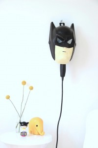 DIY Batman Bedside Lamp