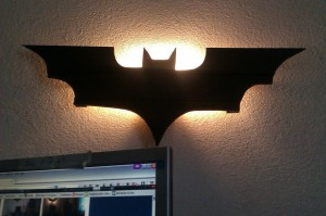 DIY Batman Lamp