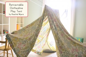 DIY Clothesline Play Tent