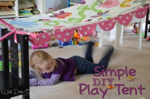 DIY Simple Play Tents