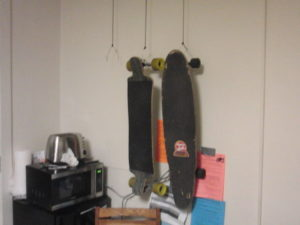 DIY Skateboard Rack