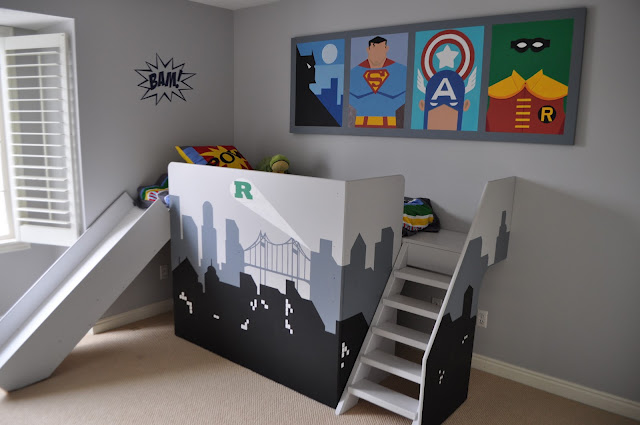 Diy Super Hero Loft Bed Groovy Kids Gear