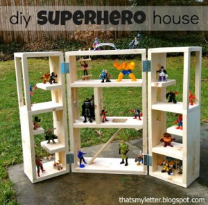 DIY Superhero Play House