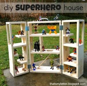 DIY Superhero Play House