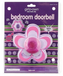 Daisy Flower girls Bedroom kids indoor Doorbell