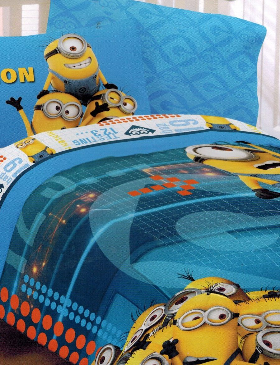 Despicable Me 2 Twin Comforter And Sheet Set Minions At