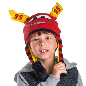 Disney Cars Lightning Mcqueen Red Flipeez Hat