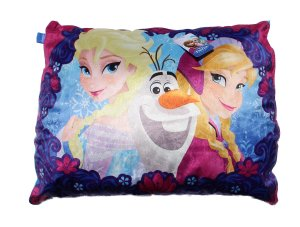 Disney Frozen Elsa Anna & Olaf Microfiber Bed Pillow