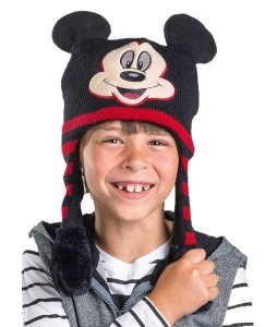 Disney Mickey Mouse Black and Red Flipeez Hat