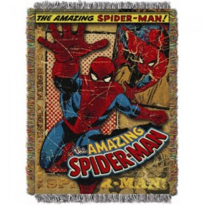 Entertainment Spiderman Vintage MTL Tapestry Throw