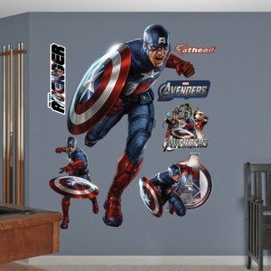 FATHEAD Captain America The First Avenger Graphic Wall Decor