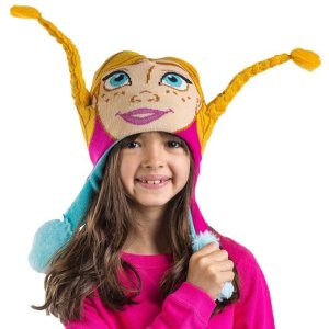 Frozen Anna Kids Flipeez Action Hat