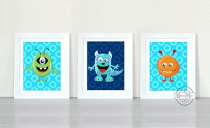 Get Some Fab Monsters Wall Art!