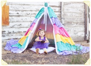 Girl's Dreamy Teepee