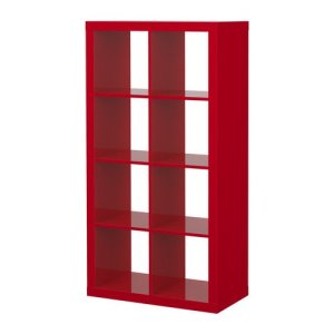 Ikea Red Storage