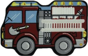 LA Rug Fire Engine Rug