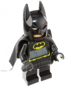 LEGO Kids' Super Heroes Batman Alarm Clock