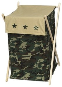 Laundry Hamper - Green Camo