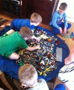 Lay-n-Go Original Kids Activity & Storage Mat 1