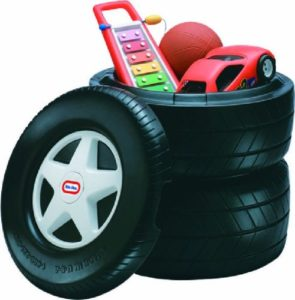 Little Tikes Classic Racing Tire Toy Chest Every Kid ...