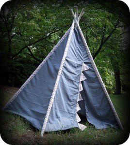 Make Your Kid Their Very Own Play Teepee!