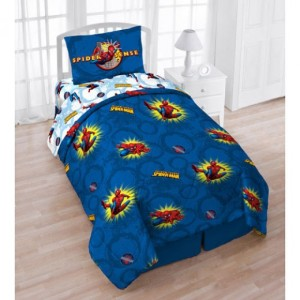 Marvel Comics Comforter Set Twin Bed