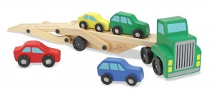 Melissa & Doug Car Carrier Down