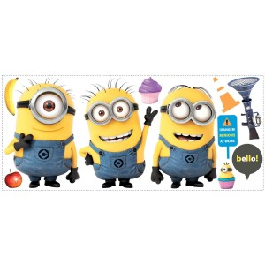 Minions Stacking Wall Decal