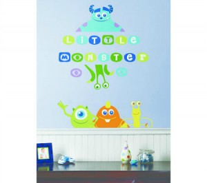 Monsters-Inc-Wall-Decal  sc 1 st  Groovy Kids Gear & Monsters Inc. Wall Decals - Groovy Kids Gear