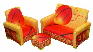 Newco 3 Piece Toddler Set, Kids Basketball Slam Dunk