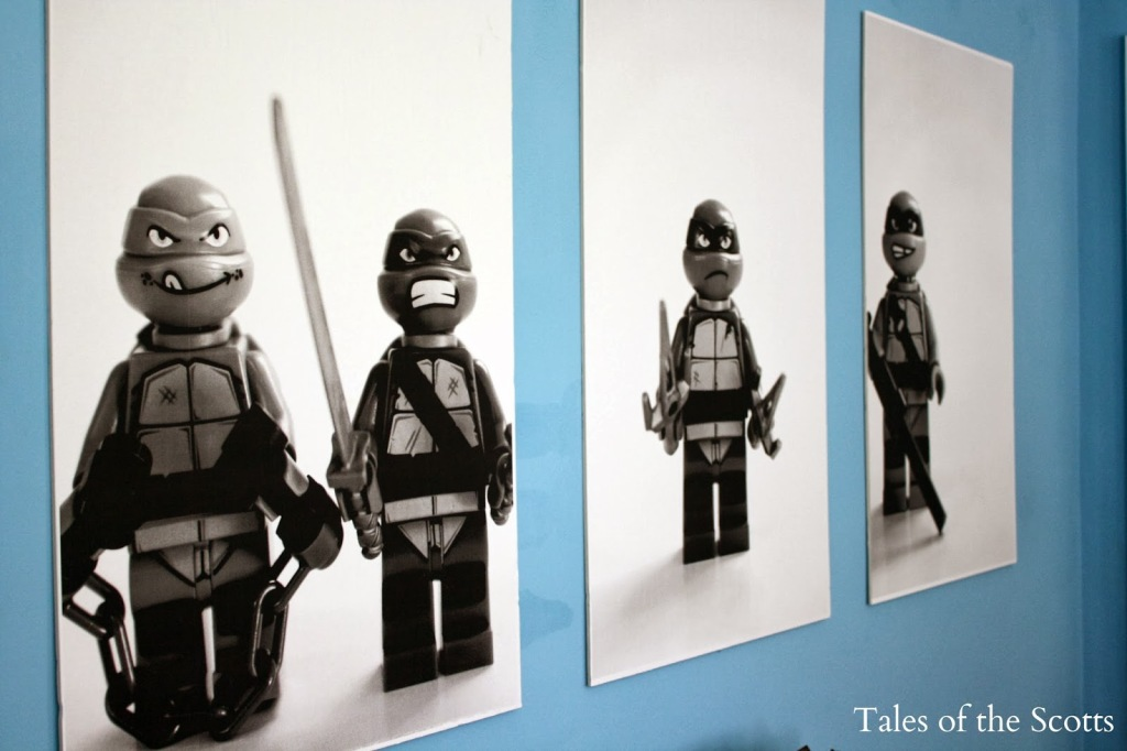 Ninja Turtle Room Makeover 13