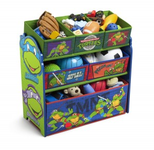 Ninja Turtles Multi Bin Storage Organizer