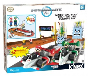 Nintendo Bowser's Castle Mario and Luigi at the Starting Line Building Set