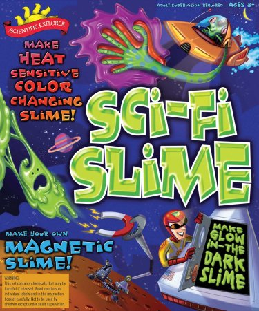 POOF-Slinky Scientific Explorer Sci-Fi Slime Science Kit